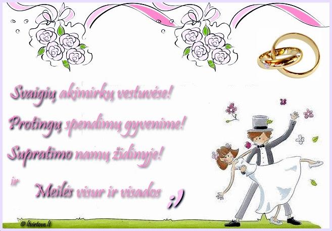 Juokingi tostai vestuviu proga