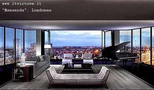 The Penthouse, Londonas