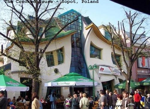 The Crooked House - Sopot, Poland