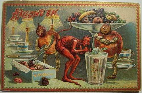 Halloween | Senos atvirutės